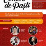 """Vineri, 7 aprilie 2017: Concert de Paști, la Centrul Cultural """"Iacob Mureșianu"""" din Blaj"""