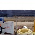 Lucrările la noua fabrică Bosch din Blaj sunt foarte avansate
