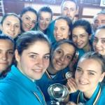 Debut cu victorie pentru CSȘ Blaj la turneul final al Campionatului Naţional de Volei Junioare