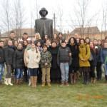 """Poetul național Mihai Eminescu omagiat la Colegiul Naţional """"I. M. Clain"""" din Blaj"""