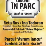 Ina Todoran, Reta Rus şi mulţi alţi artişti vor concerta în Piaţa Avram Iancu din Blaj