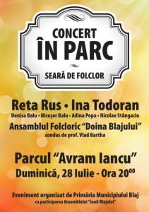 Concert-in-parc-folclor-blaj