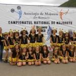 """Locul al II-lea la Campionatul Naţional de Majorete a fost ocpat de echipa """"Crystal Team"""" din Blaj"""