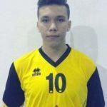 Voleibalistul Sebastian Mărginean de la CSŞ Blaj, selecţionat din nou la lotul naţional de cadeţi