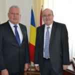 Excelenţa Sa Paul Brummell, ambasadorul Marii Britanii în România, a vizitat municipiul Blaj