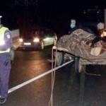 O femeie a fost rănită într-un accident de circulație petrecut pe DN 107 la ieșirea din Sîncel