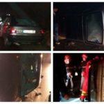Un autoturism s-a răsturnat pe DN 14B, după ce s-a izbit de un cap de pod. Șoferul a fost rănit