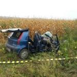 O persoană a decedat în urma unui accident rutier petrecut pe DJ 107-F, la ieșirea din Blaj
