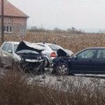 Accident rutier pe DN 14B, la Cistei, soldat cu răniți și pagube materiale