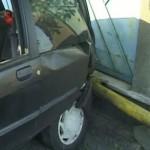 Țeavă de gaz distrusă la Jidvei de către un șofer aflat în stare de ebrietate