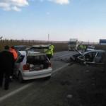 Coliziune între trei autoturisme între Blaj și Teiuș soldată cu rănirea a patru persoane