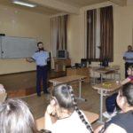 """Astăzi, 10 mai 2018, IPJ Alba a organizat la Colegiul Național """"I.M. Clain"""" din Blaj o activitate de prevenire a consumului de droguri şi a traficului de persoane"""