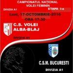 Campioana Volei Alba Blaj atacă al treilea titlu consecutiv la volei feminin