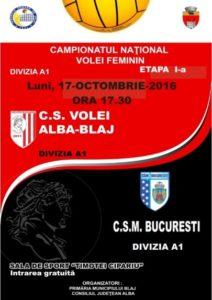 afis-volei-alba-blaj-csm-bucuresti-oct-2016