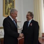 Gheorghe Valentin Rotar s-a întâlnit cu Oszkar Fuzes, ambasadorul Ungariei