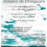 Vineri, 8 aprilie 2016: Soprana Raluca Cîmpean va concerta pentru prima dată în orașul său natal