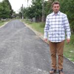 Asfalt nou-nouţ în comuna Mihalţ, la Cistei şi Obreja
