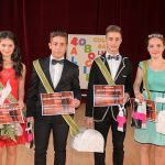 """Ioana Mărginean şi Andrei Luncean sunt Miss și Mister 2014 ai Balului Bococilor de la Colegiul Național ,,I. M. Clain"""" Blaj"""