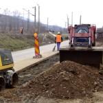 Din această lună, locuitorii din cartierul blăjean Veza se pot racorda la reţeaua de canalizare