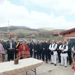 Alături de primarul Flavius Breaz, locuitorii din Cistei au inaugurat căminul cultural din localitate, care a fost renovat de la temelie