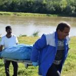 Polițiștii blăjeni fac cercetări pentru a stabili identitatea cadavrului găsit ieri în râul Târnava