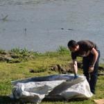 Cadavru uman descoperit în Râul Târnava la Crăciunelu de Jos