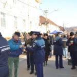"""Campania """"ALEGE SĂ FII CORECT!"""" derulată de Ministerul Afacerilor Interne a ajuns astăzi la Blaj"""