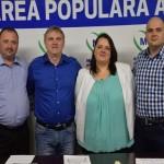 Cătălina Ilieș a fost prezentată astăzi drept candidata Mișcării Polulare la Primăria din Blaj