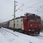 O porțiune din calea ferată care leagă Copşa Mică de Blaj a fost înlocuită din cauza gerului