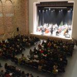 """Ieri, 28 decembrie 2017, Orchestra Simfonică """"Napocensis"""" din Cluj Napoca a susținut un Concert de Sărbători, la Palatul Cultural din Blaj"""