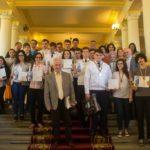 """Sergiu Megieșan, elev al Colegiului Național """"I.M. Clain"""" din Blaj, a câștigat marele premiu al concursului de matematică """"Mircea Ganga"""" – 2017"""