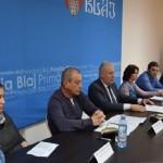 """Gheorghe Rotar: """"Spitalul Municipal din Blaj va fi dotat cu aparatură medicală în valoare de un milion de euro"""""""