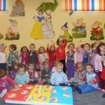 """Ziua Naţională a României sărbătorită de preșcolarii de la Centrul de zi """"Sfânta Irina"""" din Blaj"""