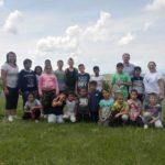 """Copiii de la Centrul de Zi """"Sfântul Nicolae"""" din Valea Lungă, în excursie la Centrul de Tineret de la Obârșia Tiurului"""