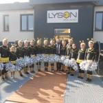 """Majoretele de la Școala Gimnazială """"Toma Cocișiu"""" din Blaj au participat în Polonia, la lansarea campaniei Lyson – """" Salvați albinele!"""""""