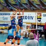 Ultima repetiţie înainte de debutul în Liga Campionilor: CSM Lugoj – Volei Alba Blaj 0-3