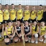 """CSŞ Blaj are două victorii la turneu semifinal de volei junioare care se desfășoară în Sala """"Timotei Cipariu"""""""