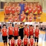 CSŞ Blaj are calificate în finalele naţionale la mini-volei doua echipe