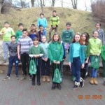 """Patrula de Reciclare de la Școala Gimnazială """"Ioan Maiorescu"""" din Bucerdea Grânoasă a colectat deșeurile electrice"""