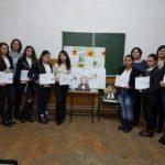 """Elevii Liceului Tehnologic Jidvei au sărbătorit cei 168 de ani trecuți de la nașterea poetului """"nepereche"""" Mihai Eminescu"""