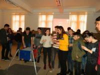 """Finanțare de 5.000 de euro pentru echipa de robotică a Colegiului """"I. M. Clain"""" din Blaj, în vederea construcției robotului cu care va participa la competiția BRD First Tech Challenge România"""