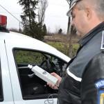 Bărbat de 59 de ani din Sâncel surprins la volan, cu o alcoolemie de 0,75 mg/l