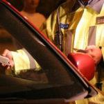 Dosar penal pentru un șofer de 40 de ani din Șona, după ce a condus băut și a provocat un accident rutier pe strada Merilor din Blaj