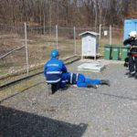 Inspectoratele pentru Situaţii de Urgenţă din Alba, Mureş şi Sibiu au efectuat un exercițiu comun la Cetatea de Baltă