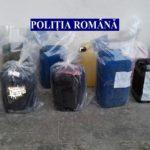 Patru persoane bănuite de furt şi complicitate la furt de combustibil din gospodăriile şi utilajele agricole ale unor cetăţeni, reținute de polițiștii din Jidvei