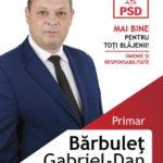 (P) Alegeri Locale 2016 – Domnului profesor Gabriel Bărbuleţ, cu admiraţie şi respect!