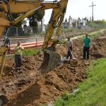 2015 – anul infrastructurii la Mihalţ. Operaţiunile de canalizare și asfaltare se află în plină desfăşurare