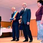 După 40 de ani petrecuţi la catedră, învăţătoarea Sofia Puşcaşu a fost declarată cetăţean de onoare al comunei Bucerdea Grânoasă
