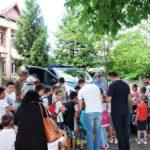 Jandarmii din Alba Iulia au sărbătorit Ziua Internațională a Copilului, în Parcul Avram Iancu din municipiul Blaj