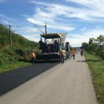 Asfaltarea DN 14 B de la ieșirea din Blaj și până la limita cu județul Sibiu sunt aproape finalizate
